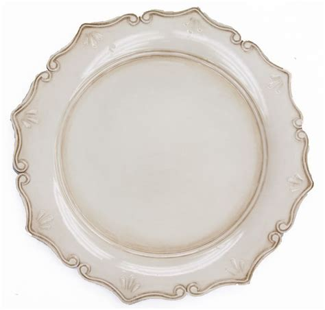 ivory charger plates royal antique charger plate antique ivory 2 99