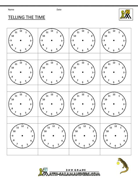 clock templates for telling time time worksheet o clock quarter and half past