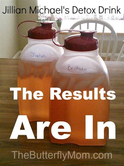 Detox Shake Routine by Real Results For The Jillian Michael S Detox Drink
