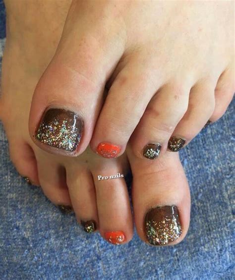 fall pedicure colors 25 best ideas about fall toe nails on fall
