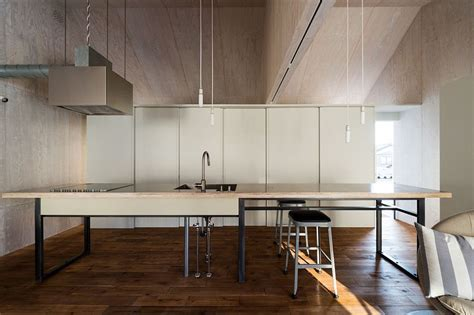 japanese home kitchen design modern industrial japanese home redefines boundaries of