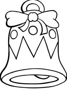 christmas bells coloring pages coloring home