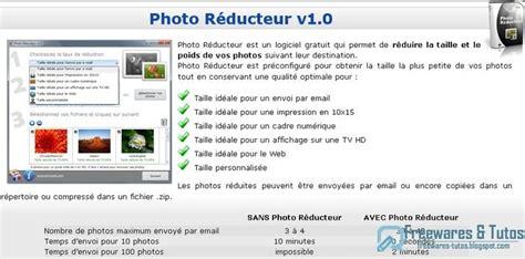 photo reducteur  logiciel gratuit pour reduire la