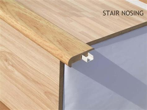 stair nosing profile for laminate flooring to match for the home pinterest laminate