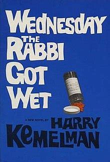 libro wednesday the rabbi got wednesday the rabbi got wet wikipedia