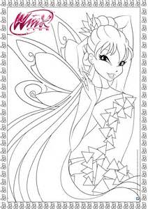 pictures to print and color tynix print color winx club
