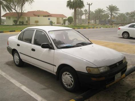 Cars For Sale Toyota 1993 Toyota Corolla Sedan Saloon Used Car For Sale In
