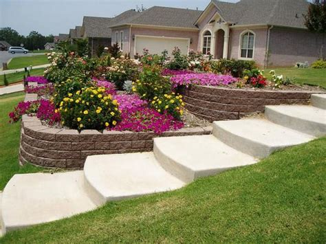 garden ideas sloped backyards landscaping ideas for sloped backyard marceladick com