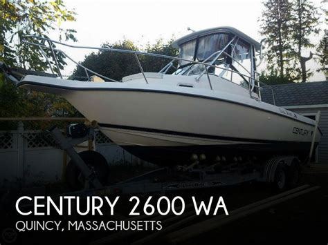century boats for sale massachusetts sold century 2600 wa boat in quincy ma 063897