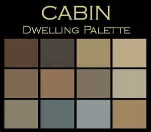 rustic colors the cabin paint color palette warm cozy your own