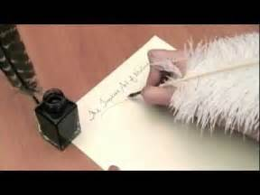 introduction to feather quill pens