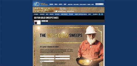 Gold Rush Sweepstakes Secret Code - goldrushgiveaway com gold rush strike gold sweepstakes