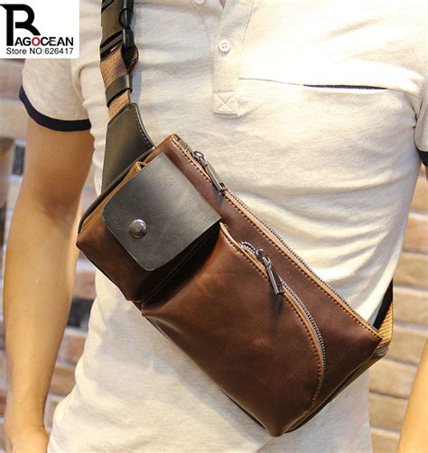 Leather Mini Bag Style Handbagshoulderbag new fashion style pu leather chest pack