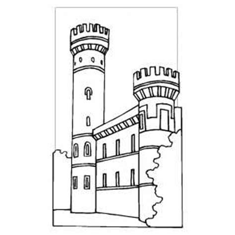 coloring pages castle tower simple castle tower coloring pages
