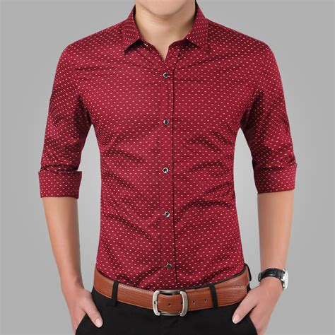 Sleeve Print Casual Shirt 2016 new shirts casual slim fit sleeve