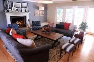 Rustic Vintage Living Room Ideas Vintage Rustic In Northridge Traditional Living Room