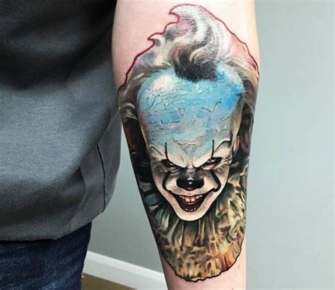 pennywise tattoo pennywise by rich harris post 20393