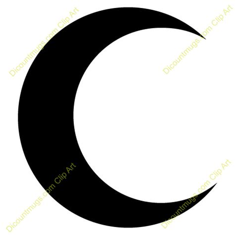 Easy To Use half moon clipart