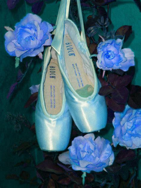 blue ballet shoes dear ones healing ministry quot blue ballet pointe shoes