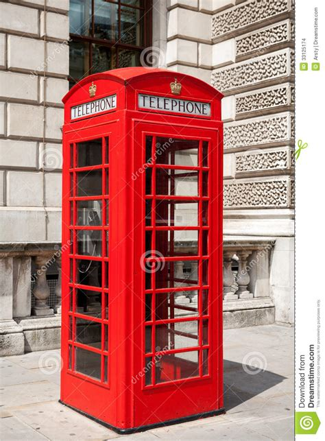 cabine telefoniche londra cabina telefonica londra regno unito immagini stock