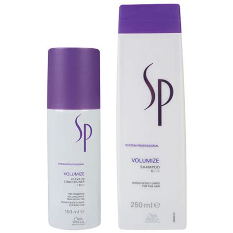 Wella Sp wella sp volumize duo shoo and leave in conditioner
