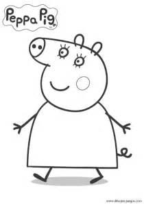 dibujos peppa pig 008 dibujos juegos pintar colorear