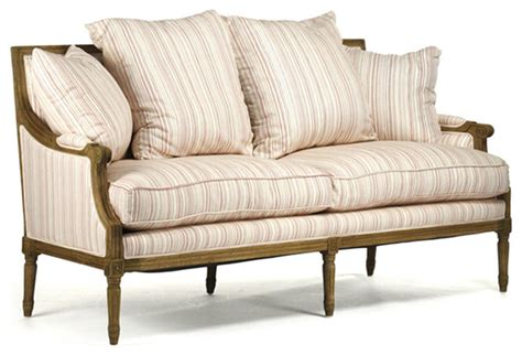 french country loveseat french country collection farmhouse sofas other