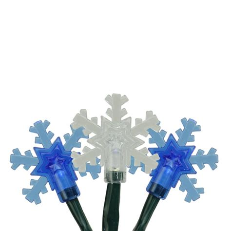 led christmas tree lights walmart 9 25 quot led lighted white and blue sparkly snowflake