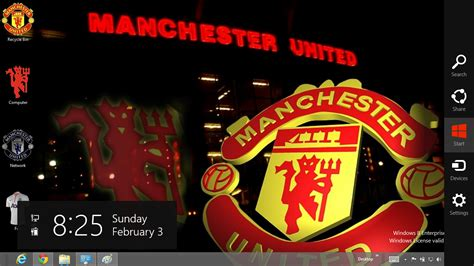 Manchester United Themes For Windows 10 | manchester united themefor windows 8 10 desk theme pack