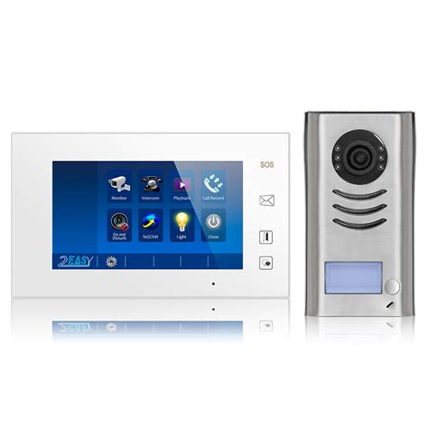 intercom entry system dk4711 1 apartment audio
