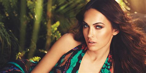A103 Fox Hers For New Born Baby Unisex megan fox named the of avon perfume popsugar