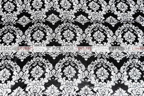 damask table linens damask print lamour table linen black white prestige