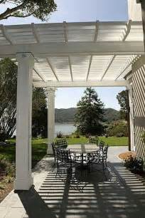Simple Patio Cover Designs by Simple White Patio Cover