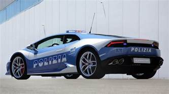Lamborghini Autos Lamborghini Huracan Car Presented To The Carabinieri