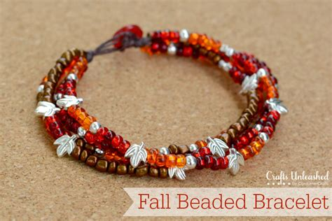 how to put a clasp on a beaded necklace beaded bracelet with button clasp tutorial crafts unleashed