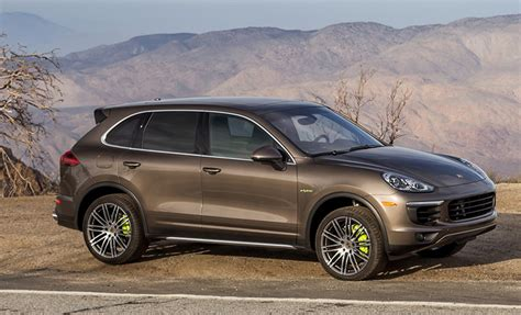 pictures and of porsche cayenne s e hybrid 2015