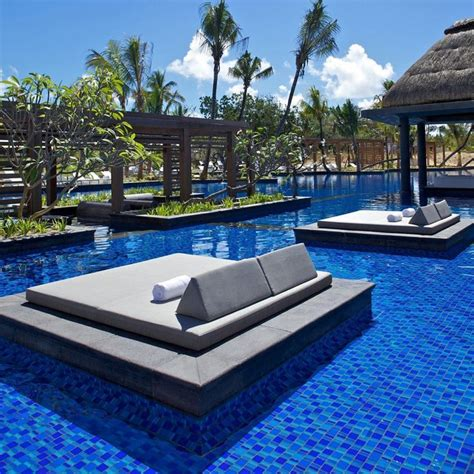 25 best ideas about pool bed on backyards pallet pool and moorish