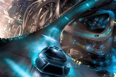 futuristic sports dsng s sci fi megaverse more concept vehicles cars