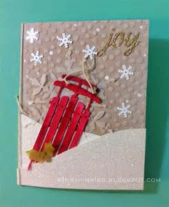 Pinterest Handmade Christmas Card Ideas