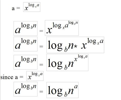 Mat Log by Proof Of Logarithm Power Change Mathematics Stack Exchange