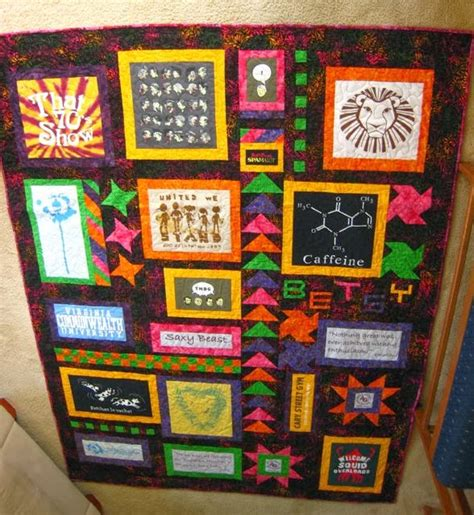 T Shirt Quilt Blocks by Snapper Knits Quilts T Shirt Quilts