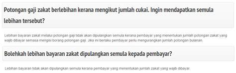 jadual zakat pendapatan tips pengiraan zakat pendapatan azzunapedia