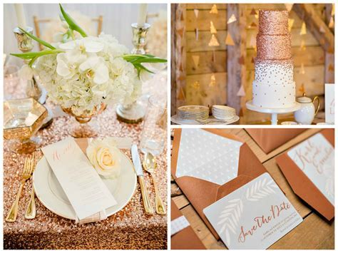 Your Wedding in Color: Cream and Copper   Arabia Weddings