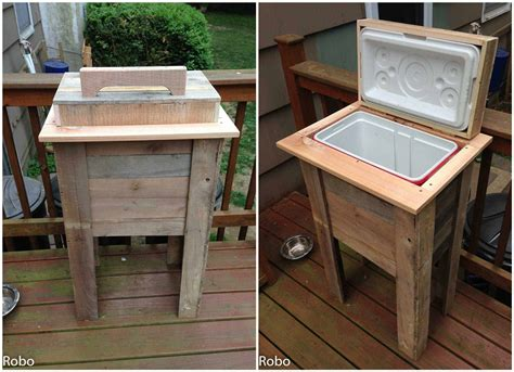 pallet cooler pallet ideas  pallets