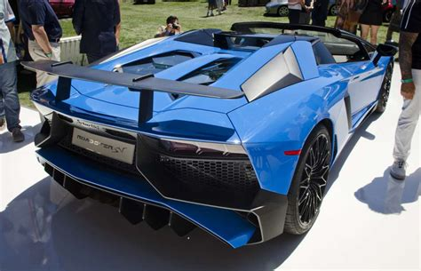 lamborghini aventador sv roadster specs price and pics