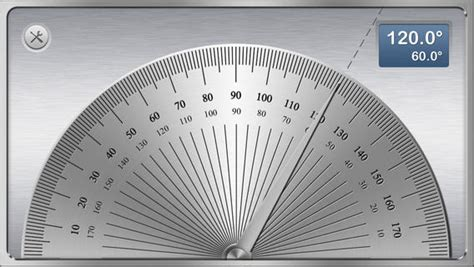 Protactor Bodi protractor angle meter tool to measure degrees and radians for iphone ipod touch and