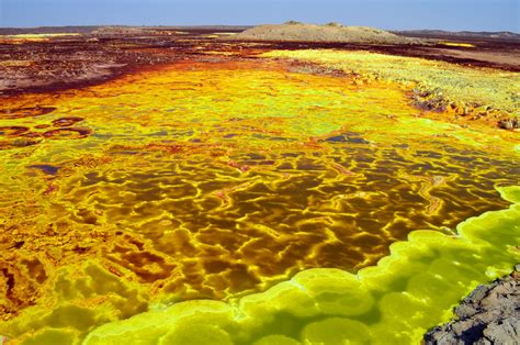 150 M To Ft by Dallol Volcano World S Strangest Volcanic Landscape