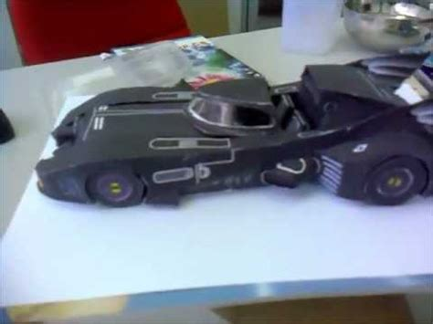 Batmobile Papercraft - batmobile 1989 make from paper papercraft diy