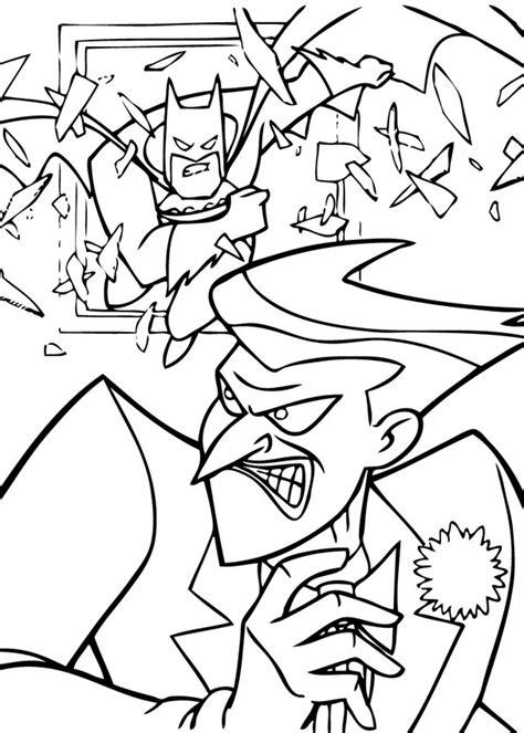 batman coloring pages hellokids com dibujos para colorear el joker contra batman es