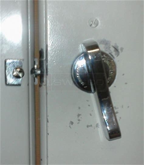 bathroom stall door locks restroom partition lock swisco com